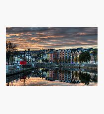 Cork Sunset Photographic Print