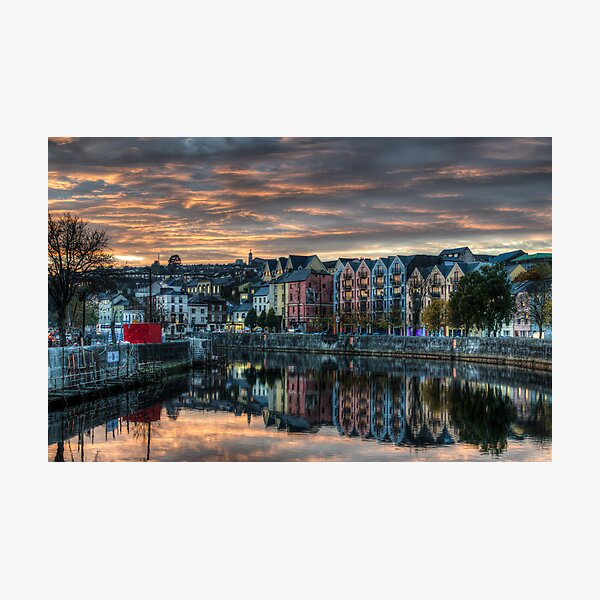 Cork Sunset Photographic Print