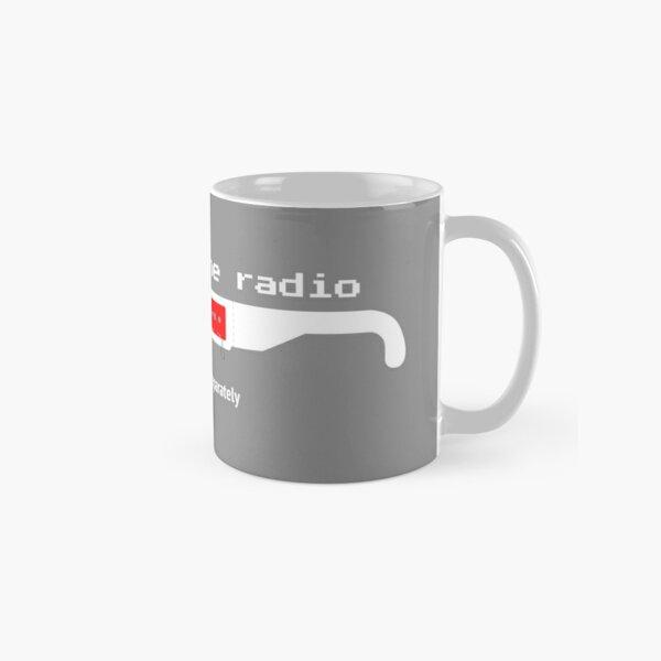 Beware! The Radio • 3D GLASSES (2) Classic Mug