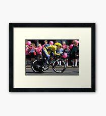 Giro d'Italia - In Belfast Framed Print