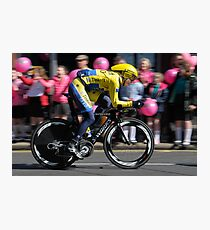 Giro d'Italia - In Belfast Photographic Print