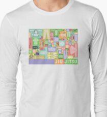 Jiu-Jitsu Gear Layout Long Sleeve T-Shirt