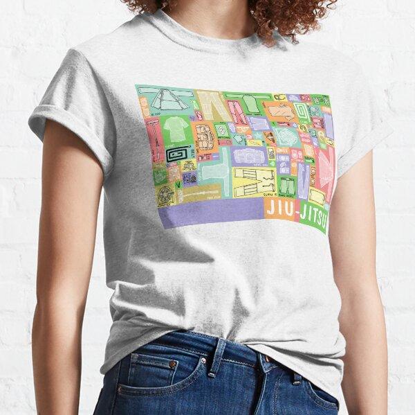 Jiu-Jitsu Gear Layout Classic T-Shirt