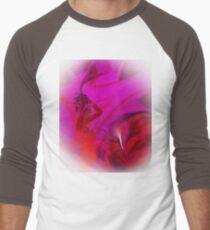 Woman in love - ABSTRACT-ART + Product Design Men's Baseball ¾ T-Shirt