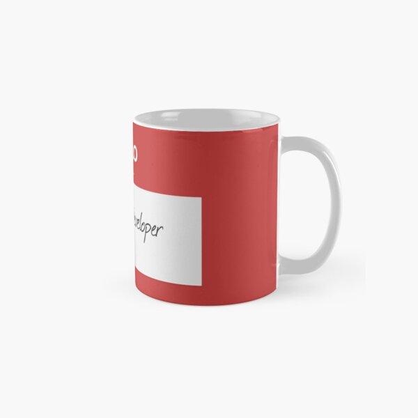 Hello I'm an AngularJS Developer Classic Mug