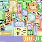 Jiu-Jitsu Gear Layout by BadPine