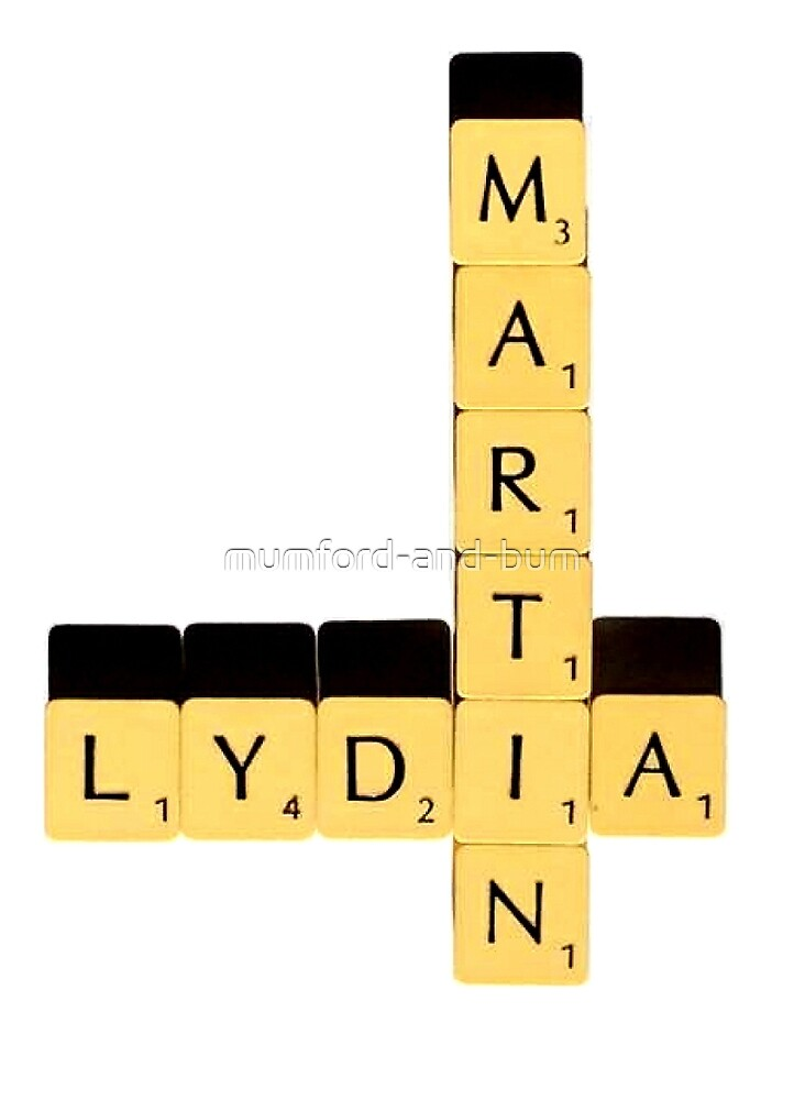 Lydia Martin | Scrabble by mumford-and-bum