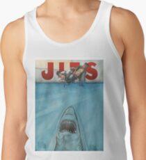 JITS - Mat is Ocean - TITLE ONLY Tank Top