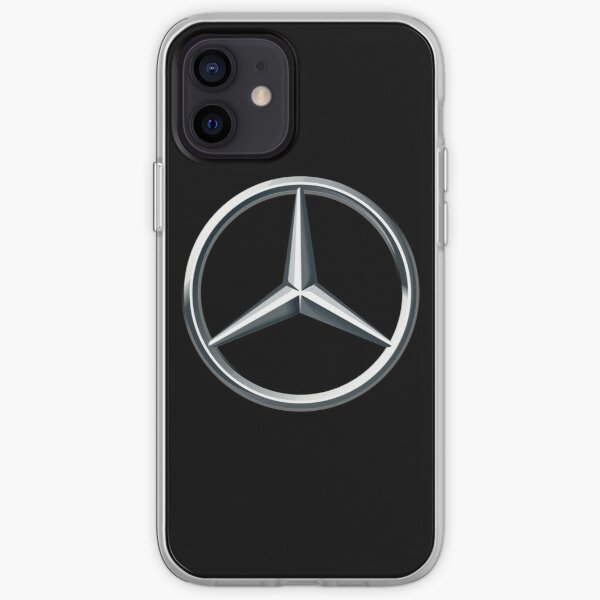 Logo de Mercedes Funda blanda para iPhone