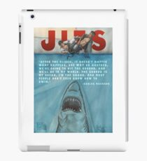 JITS - Mat is Ocean - TITLE AND QUOTE iPad-Hülle & Klebefolie