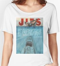 JITS - Mat is Ocean - TITLE AND QUOTE Women's Relaxed Fit T-Shirt