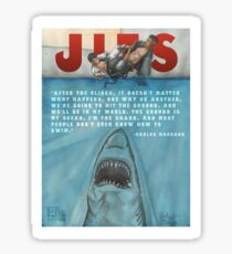 JITS - Mat is Ocean - TITLE AND QUOTE Sticker