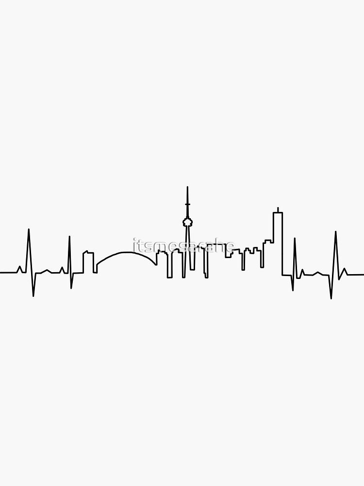 Toronto Heartbeat by itsmesarahe