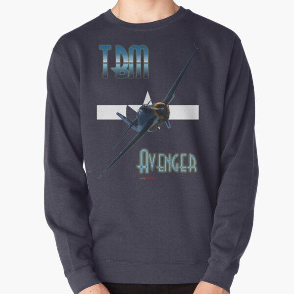 Roundel Plus Titles Design - Avenger VH-MML 20150705 Pullover Sweatshirt