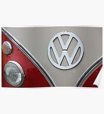VW Badge Poster