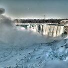 icy niagara by Brock Hunter