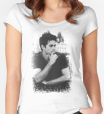 Dylan O'Brien Women's Fitted Scoop T-Shirt