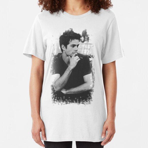 Dylan O'Brien Slim Fit T-Shirt