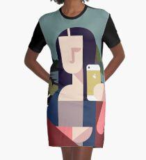 Modern Lisa Graphic T-Shirt Dress