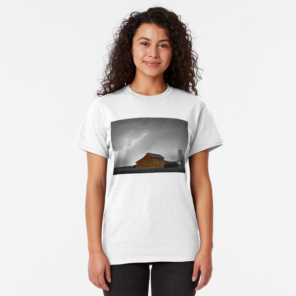 Watching The Storm From The Farm BWSC Classic T-Shirt
