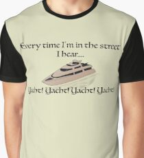 Yachts Graphic T-Shirt