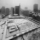nathan phillip's square by Brock Hunter