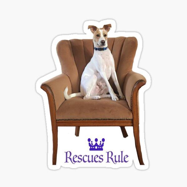 Rescues Rule Sticker