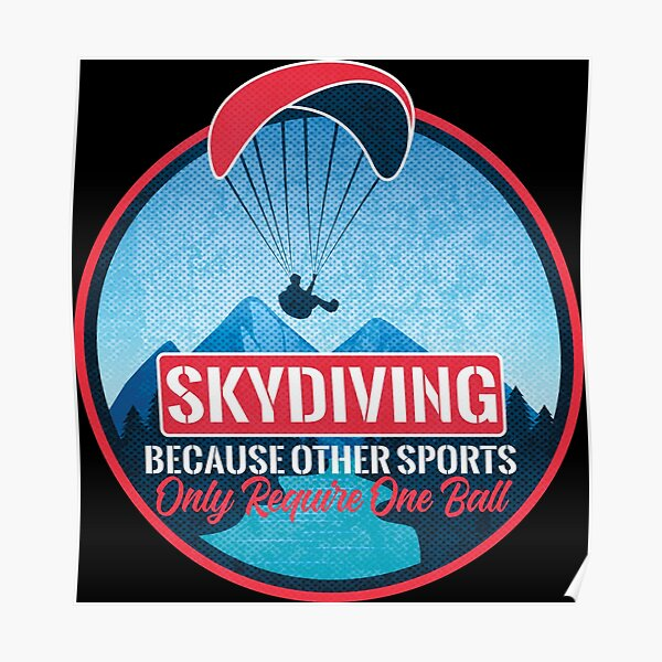 Funny Sports Parachute Straight Outta Skydiving