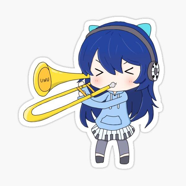 Trombone Annie Sticker