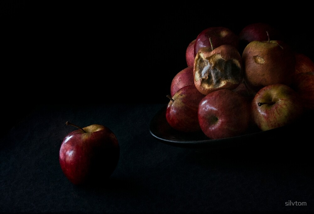 One bad apple..... by Silvia Tomarchio