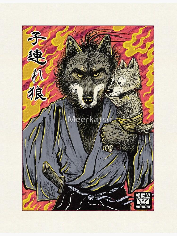 Lone Wolf and Cub by Meerkatsu