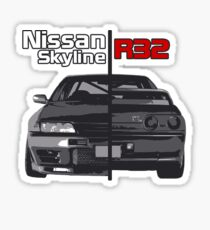 Nissan Skyline R32 JDM Sticker