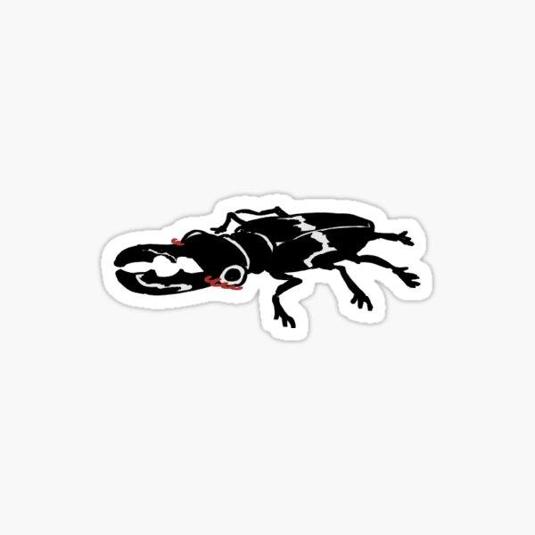 Blushy Stag Beetle Sticker Sticker
