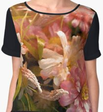 Flashy Florals Chiffon Top