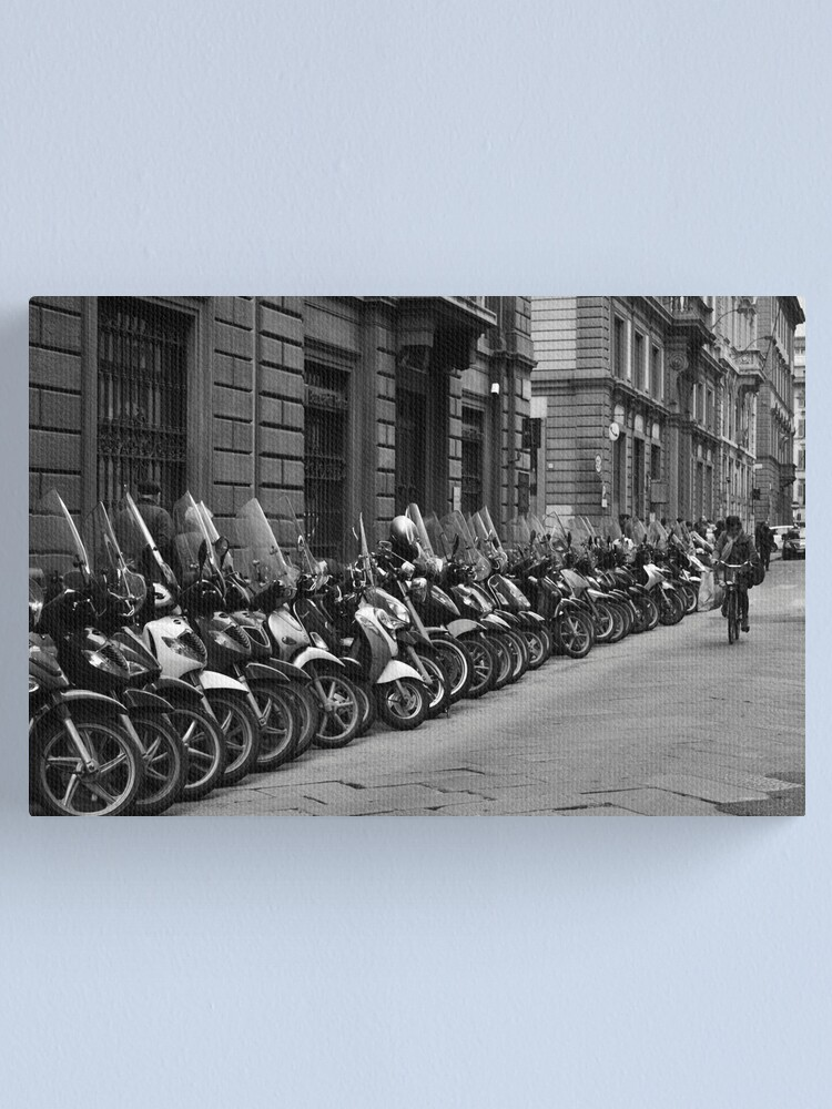 Alternate view of Pedal Power Canvas Print