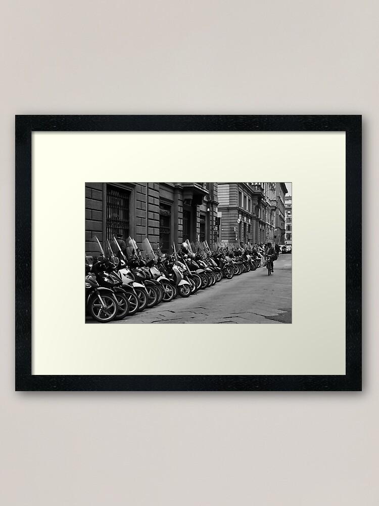 Alternate view of Pedal Power Framed Art Print