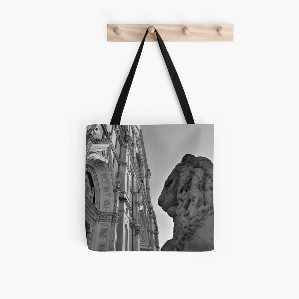 Guarding Santa Croce Tote Bag