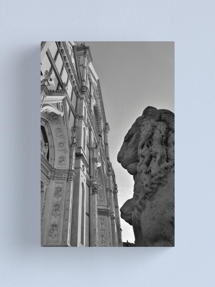 Alternate view of Guarding Santa Croce Canvas Print