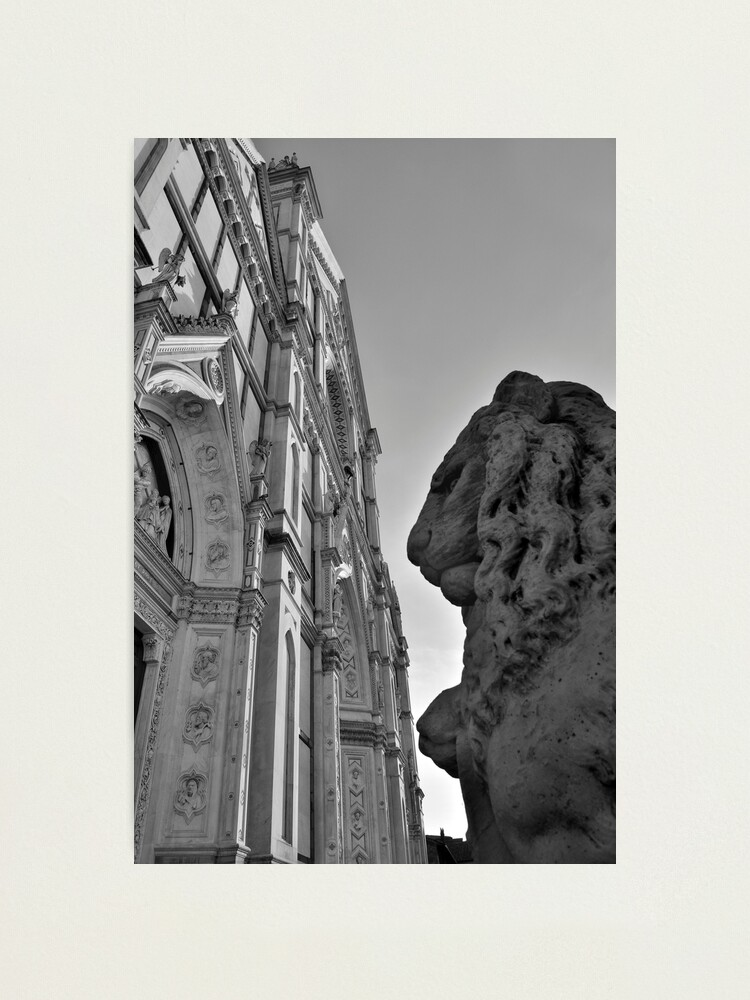 Alternate view of Guarding Santa Croce Photographic Print