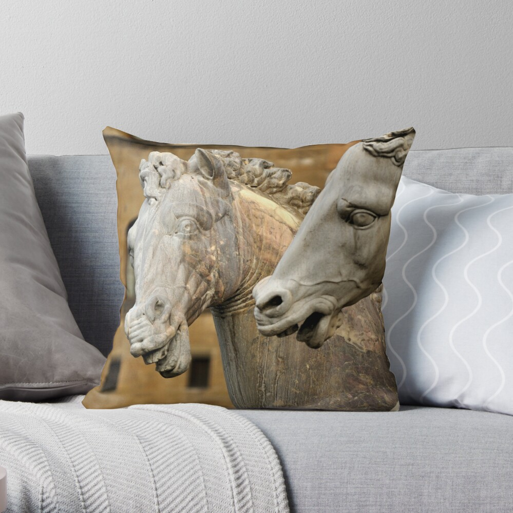Chitchat Throw Pillow
