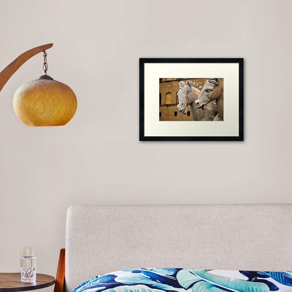 Chitchat Framed Art Print