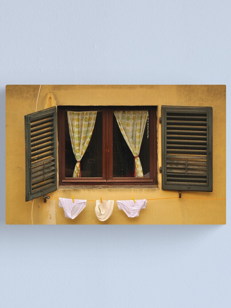 Alternate view of Tuscan Undies Canvas Print
