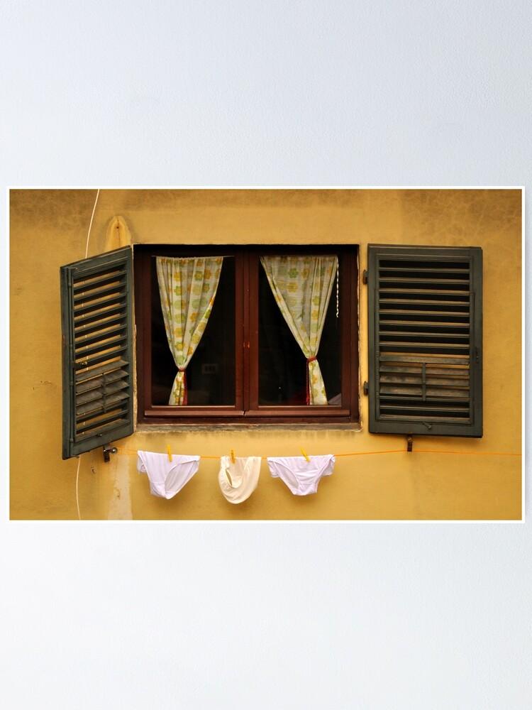 Alternate view of Tuscan Undies Poster