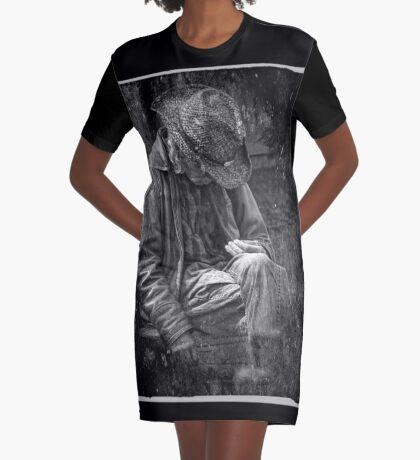 The Wandering Man Graphic T-Shirt Dress