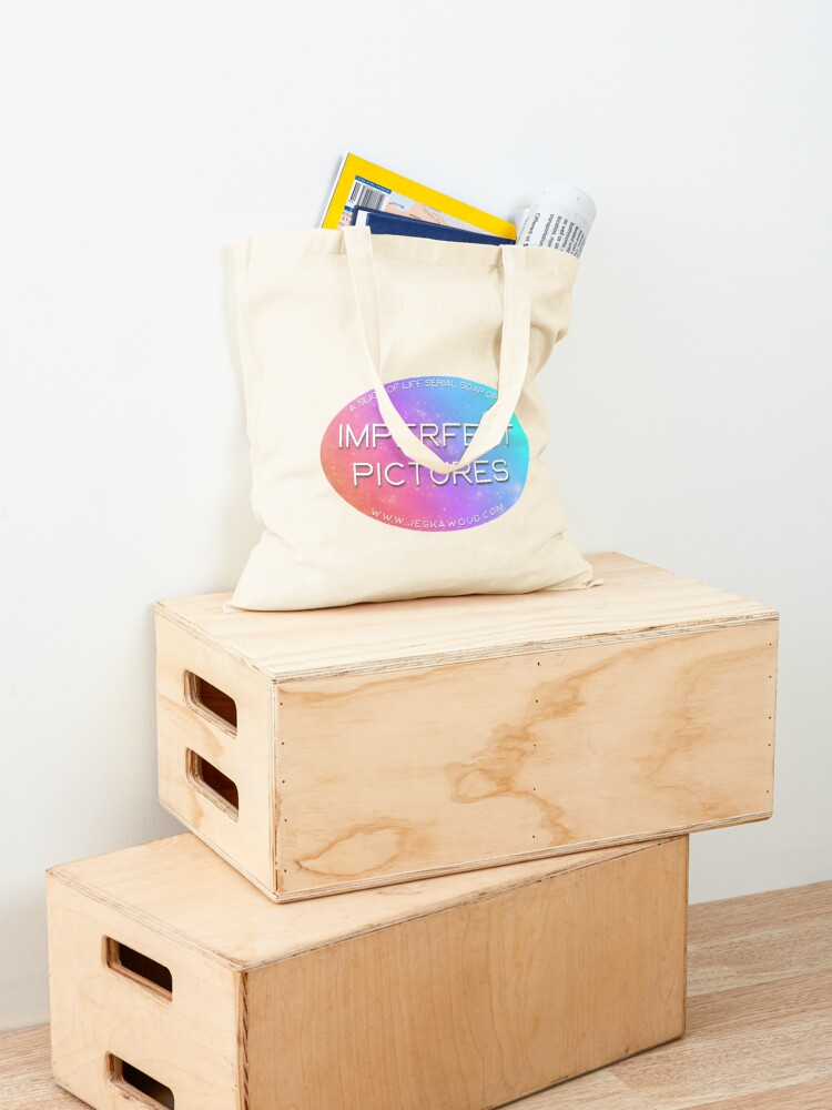 Alternate view of Imperfect Pictures Stardust Logo Tote Bag