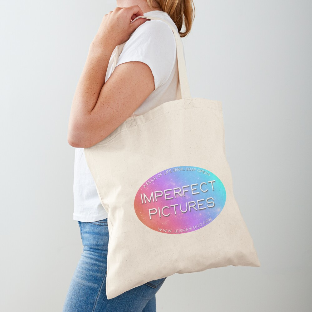 Imperfect Pictures Stardust Logo Tote Bag
