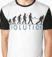 Funny Ice Hockey Evolution Of Man T Shirt Graphic T-Shirt