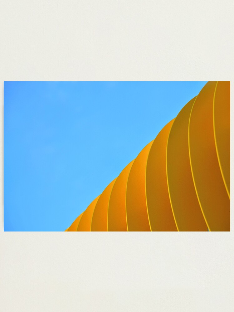 Alternate view of Yellow Waves Photographic Print