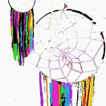 Abstract Dreamcatchers by Tiffani