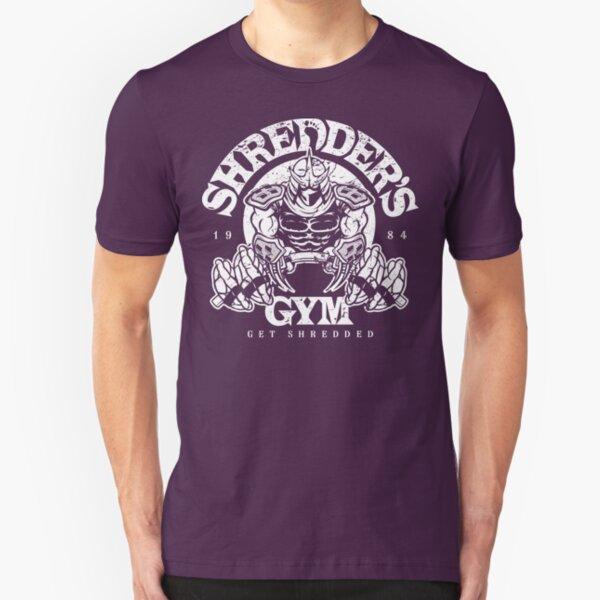 Shredder's Gym Slim Fit T-Shirt